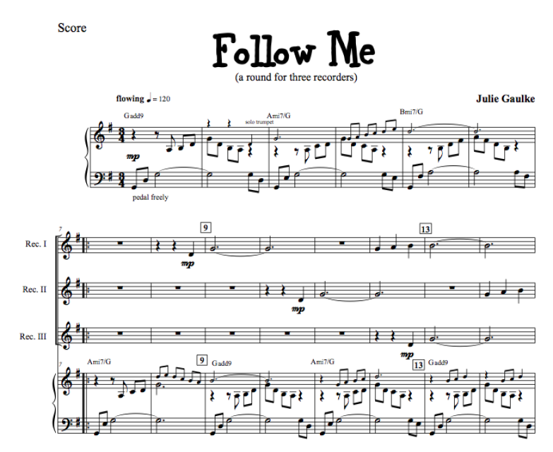 Follow Me - with MP3